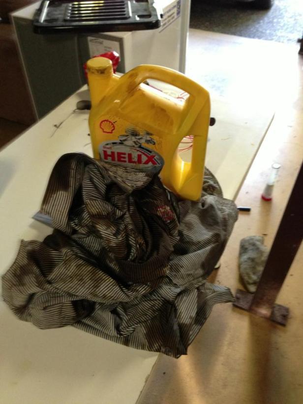Oil rag